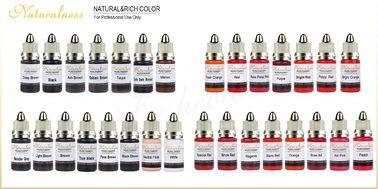 China Organic Naturalness Liquid Pigment Ink Permanent Makeup Pigmentation 34 Colors supplier