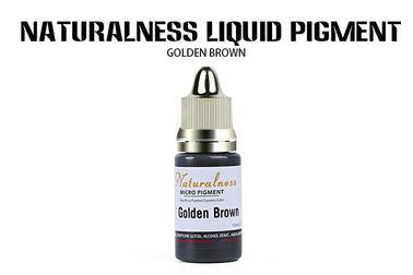 Golden Brown Organic Permanent Makeup Pigments Naturalness Liquid Ink Pigment